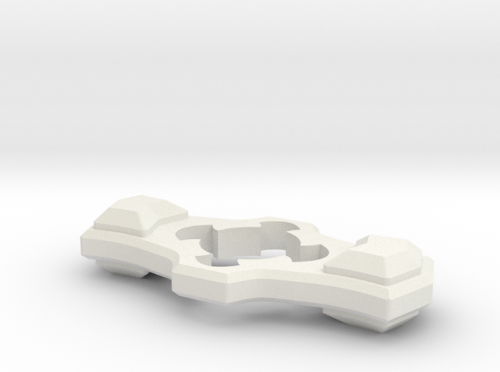 The Beast Fidget Spinner 3d printed