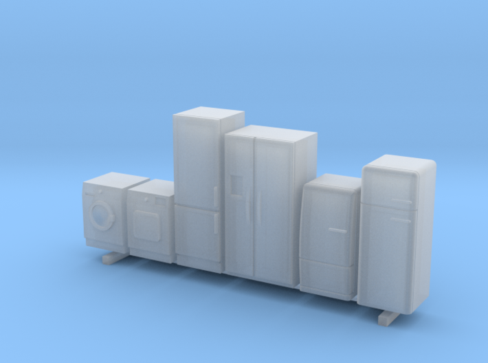 HO Scale Household Appliances 3d printed