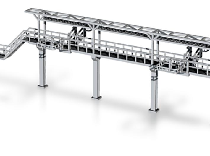 N Scale Tank Car loading Platform 3d printed