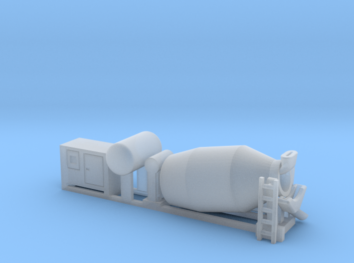 N Gauge Cement Mixer Wagon Load 3d printed