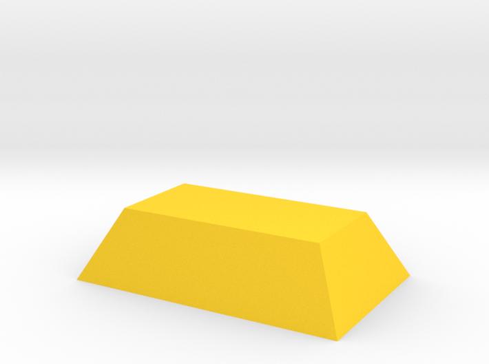 Gold Ingot Game Piece 3d printed