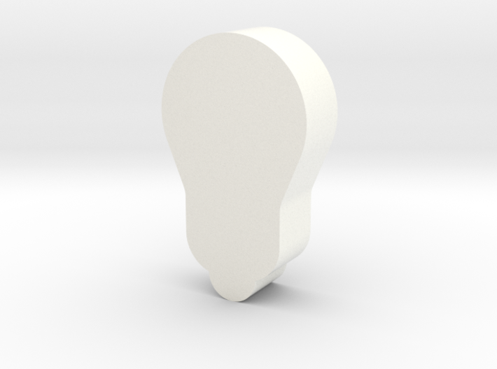 Light Bulb Game Piece 3d printed
