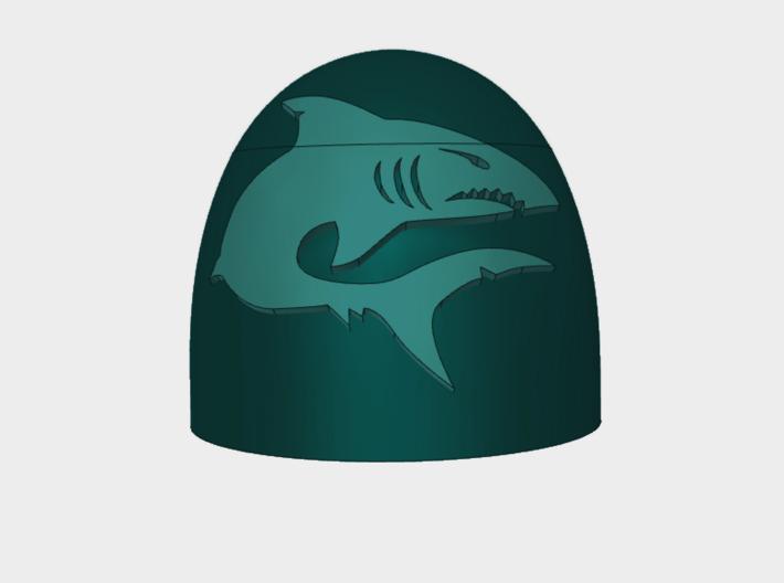 Mako Shark - G5 Right Shoulder Pads x10 3d printed