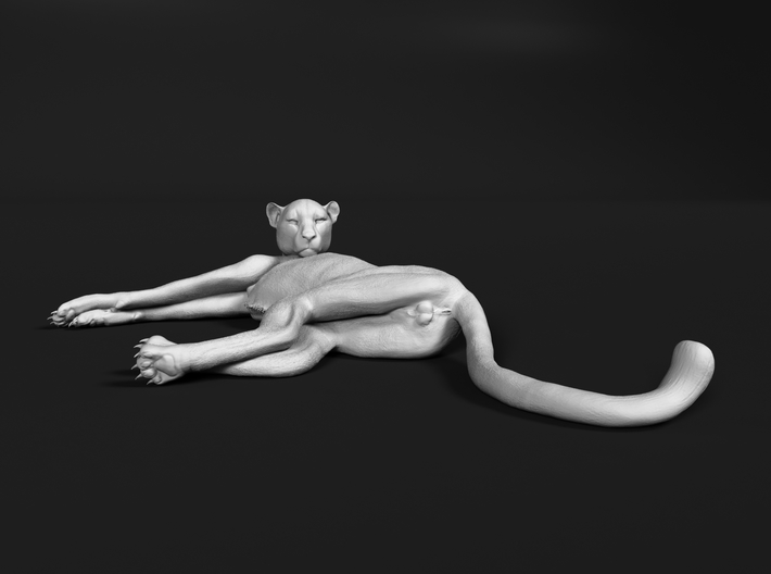 Cheetah 1:35 Lying Female 3d printed