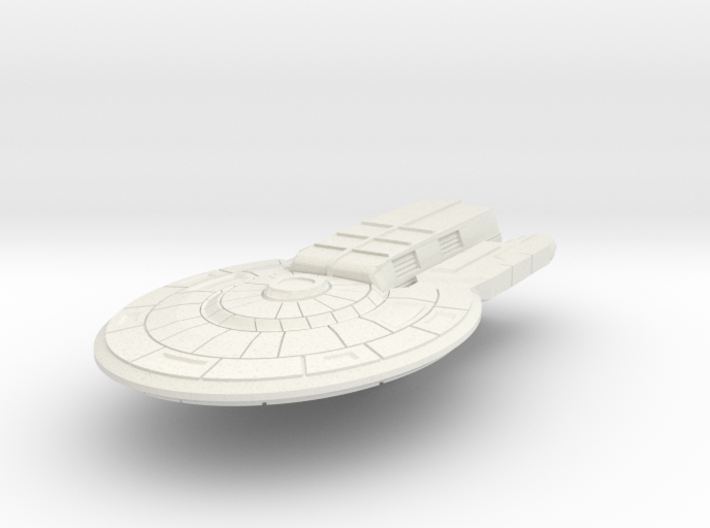 Colonial Light Carrier (no turrets) 3d printed