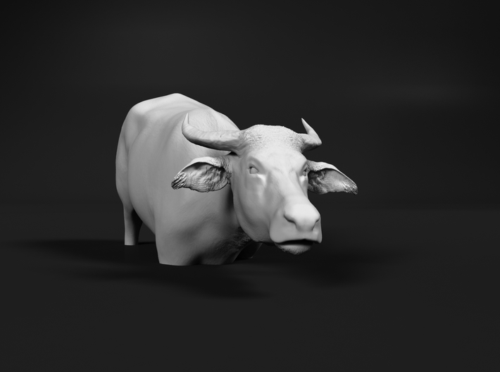 Domestic Asian Water Buffalo 1:45 To Deeper Water 3d printed
