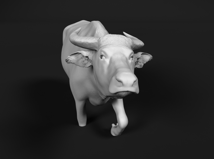 Domestic Asian Water Buffalo 1:45 Walks in Water 3d printed