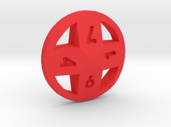 Cross d8 3d printed