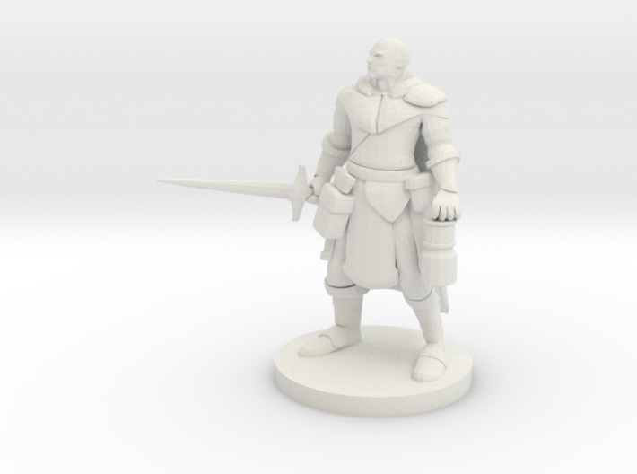 Mountain Warrior Paladin / Cleric 3d printed