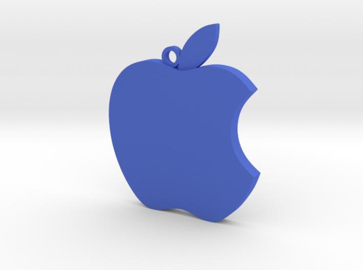 Apple logo in 3D 3d printed
