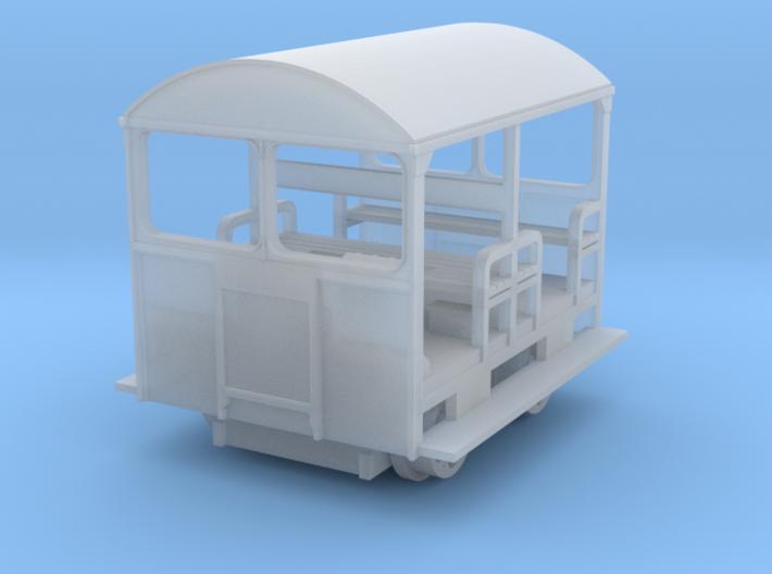 Wickham Trolley N gauge Revised version 3d printed