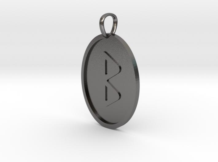 Berkana Rune (Elder Futhark) 3d printed