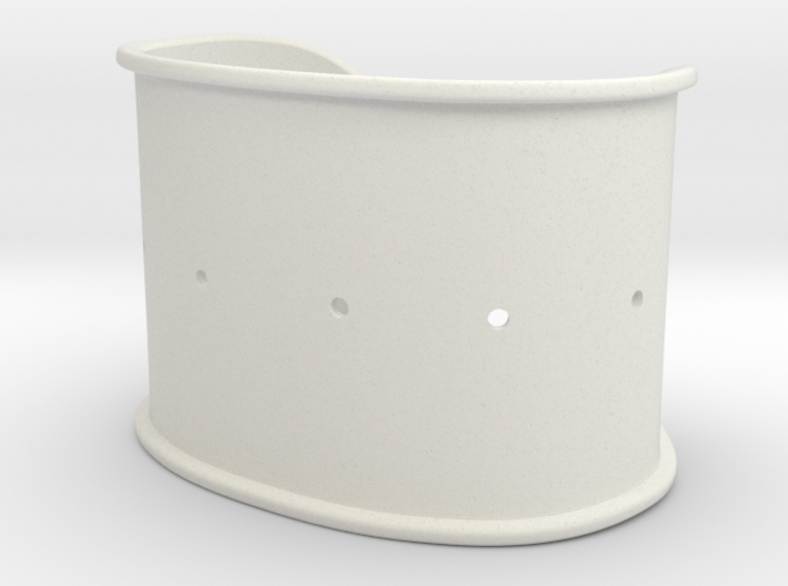 Cuff Band Only - Original Dimensions 3d printed