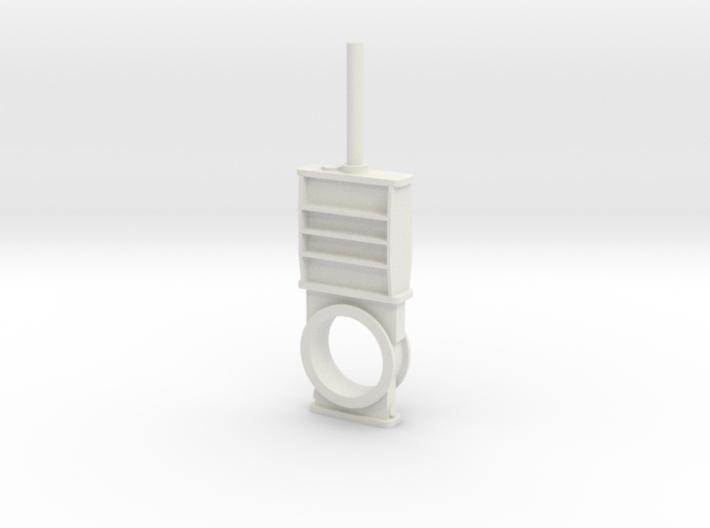 Gate valve 8 1-50 3d printed