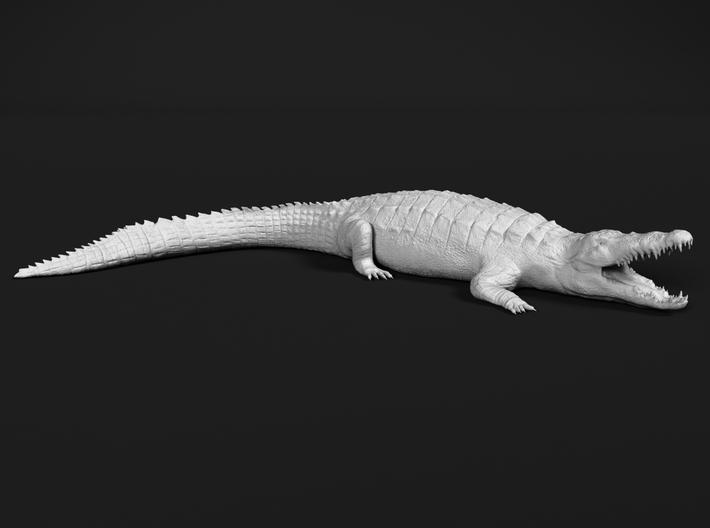 Nile Crocodile 1:72 Mouth Open 3d printed