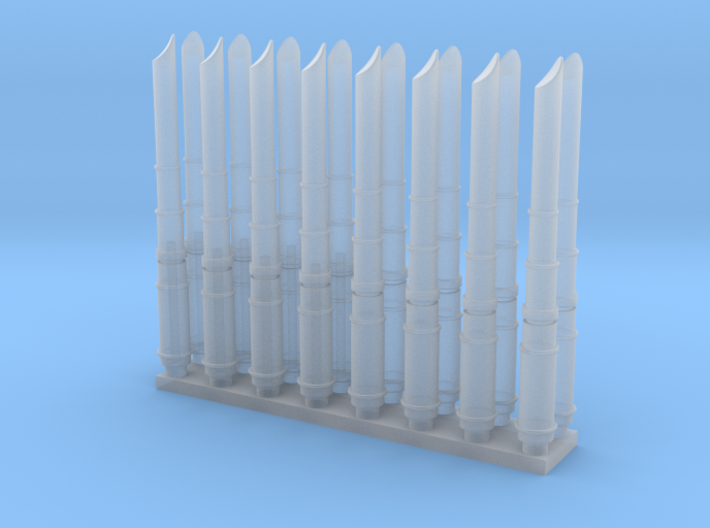 WING-Y 1/48 NACELLE ARMS STRUTS SET 3d printed