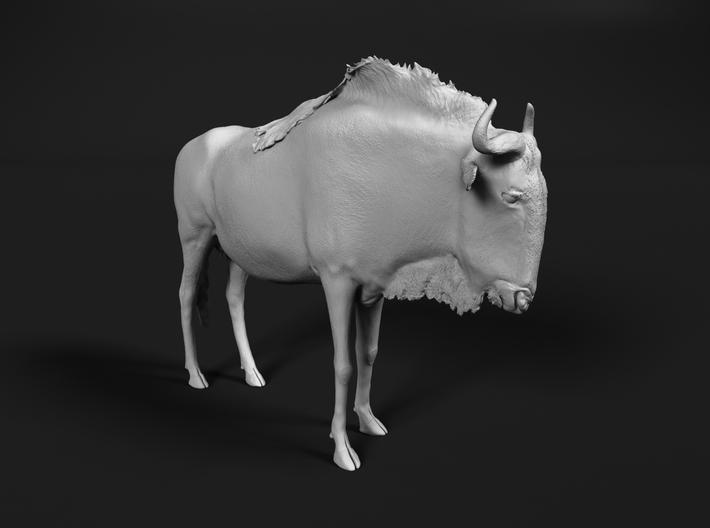 Blue Wildebeest 1:25 Standing Female 3d printed