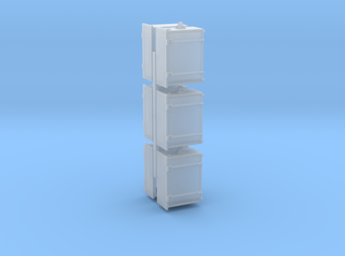 Cabinet 6 Pack 1-48 O Scale 3d printed