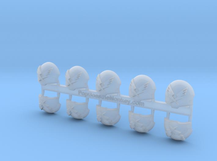 Tempestors  = Terminator Shoulder x10 3d printed