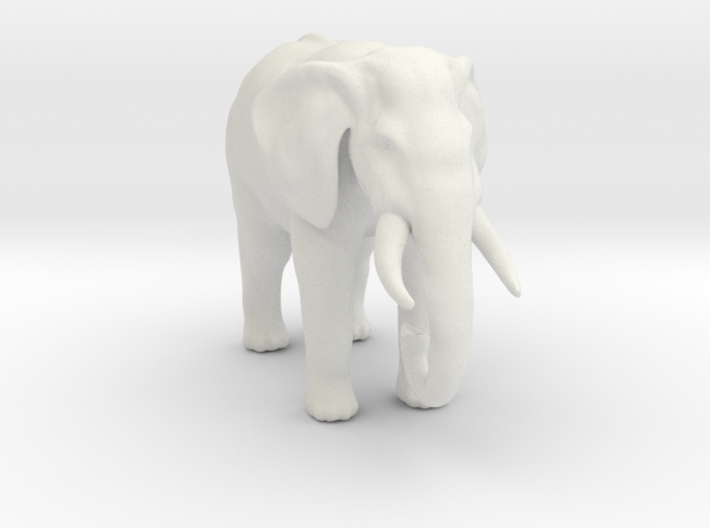 Printle Thing Elephant - 1/43.5 3d printed