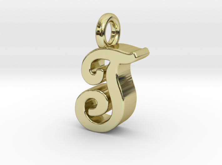 T - Pendant 3mm thk. 3d printed
