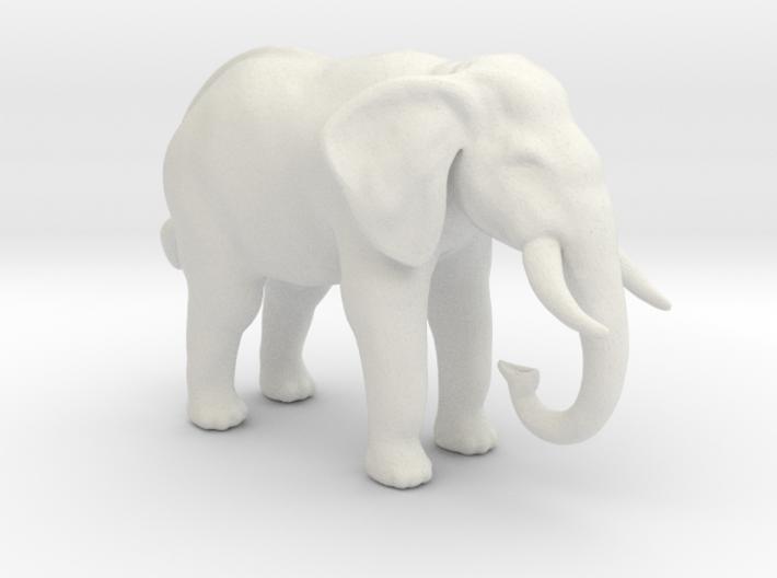 Printle Thing Elephant - 1/72 3d printed