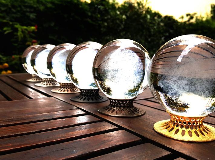 """The Universe Sphere Base """"LED Fitting"""" 3d printed"""