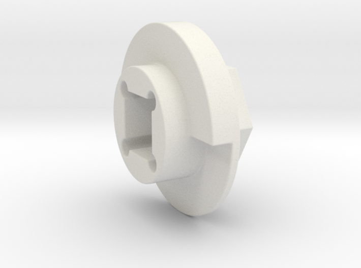 DX4 wheel adapter BS=12mm 3d printed