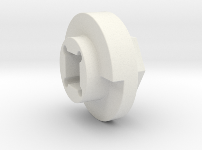 DX4 wheel adapter BS=14mm 3d printed