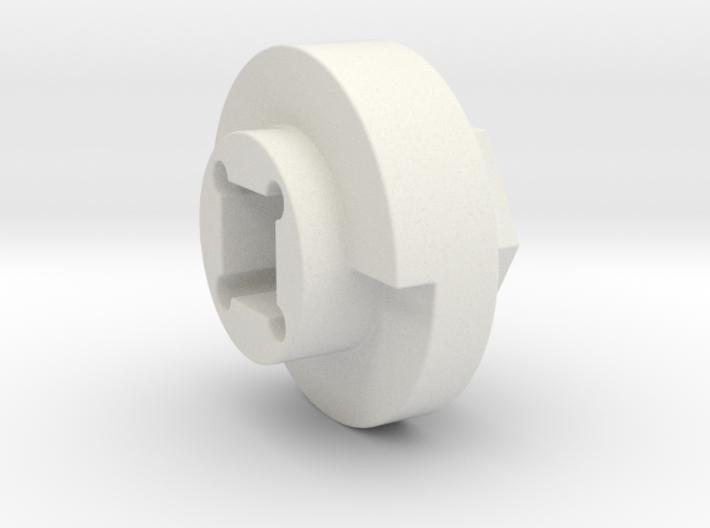 DX4 wheel adapter BS=15mm 3d printed