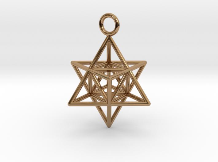 Pendant_Merkaba-Triforce 3d printed