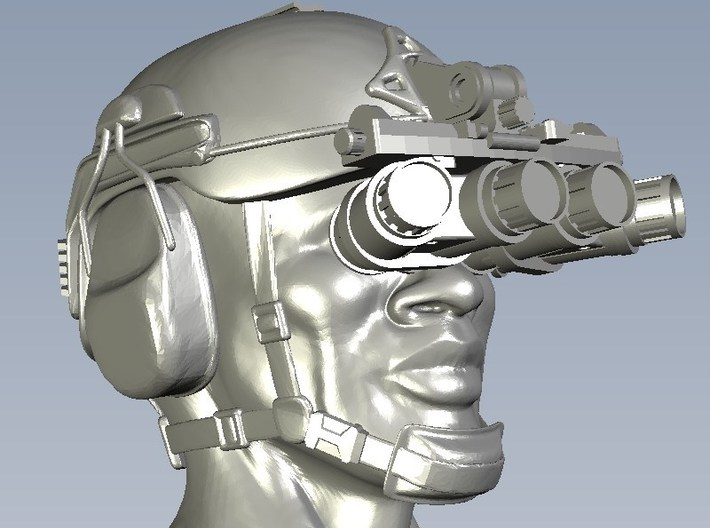 1/48 scale SOCOM NVG-18 night vision goggles x 10 3d printed
