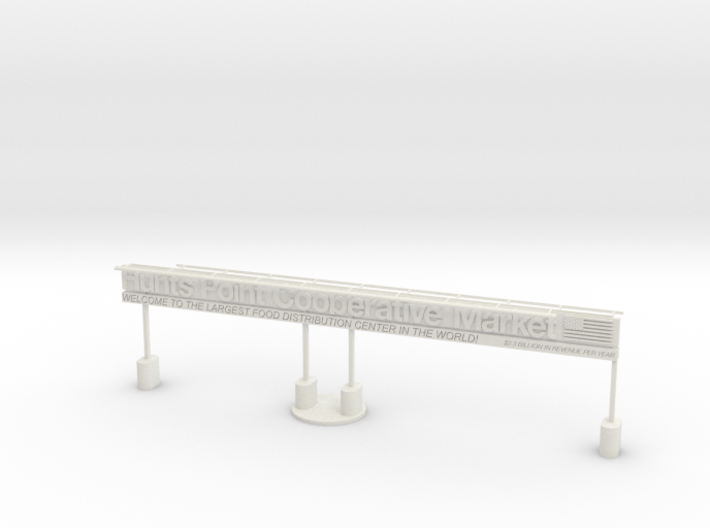 "BX-02: ""Hunts Point/South Bronx Gateway"" by Miguel 3d printed"
