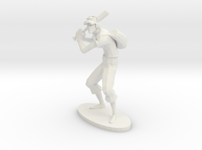 TF2 Scout RED Miniature 3d printed