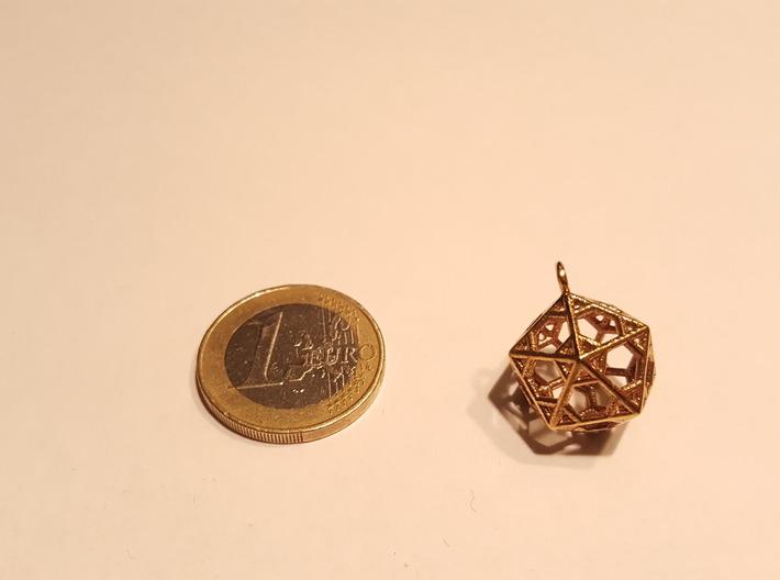 Pendant_Hexagonal-Icosahedron 3d printed
