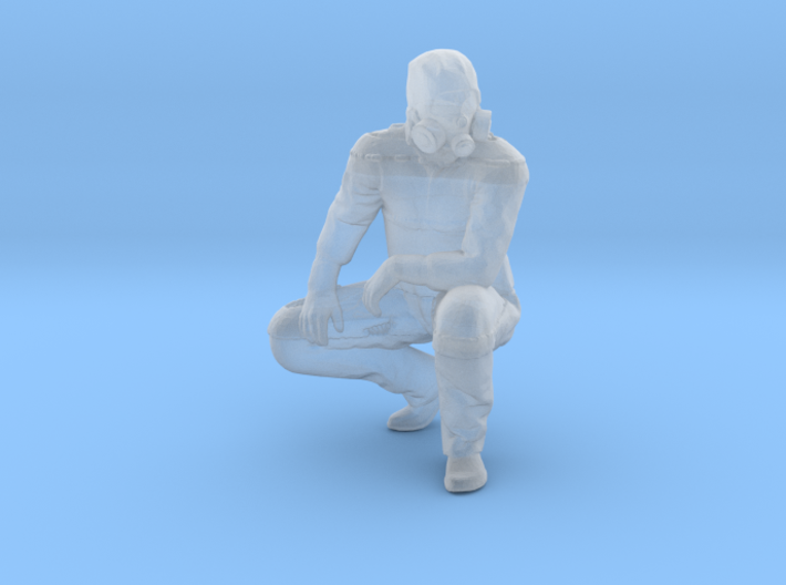 HazMat Henry Crouching 3d printed