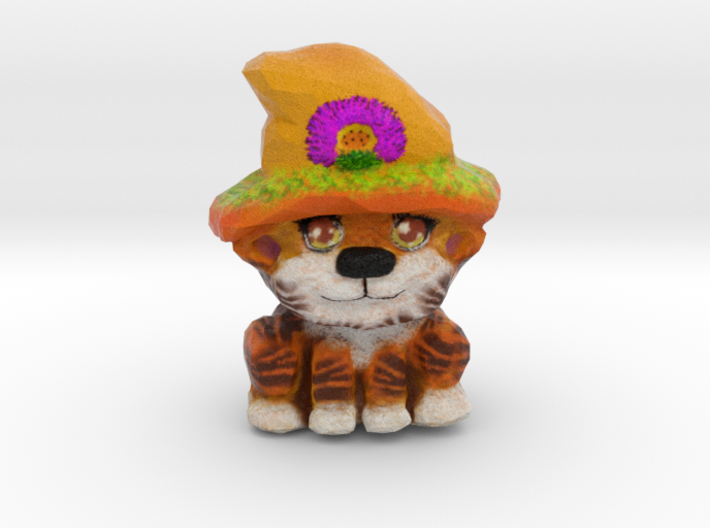 Sunny - the Summer Solstice Kitty 3d printed