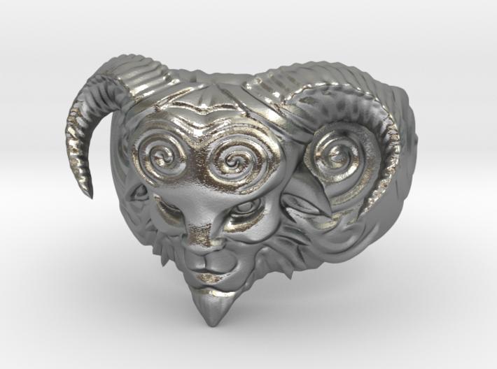 El Fauno - Pans Labyrinth Ring 3d printed
