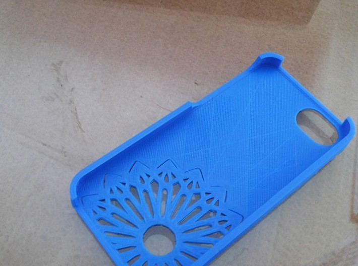 iPhone 5 Christmas Snowflake Case 3d printed Picture by Mohit Sakhpara