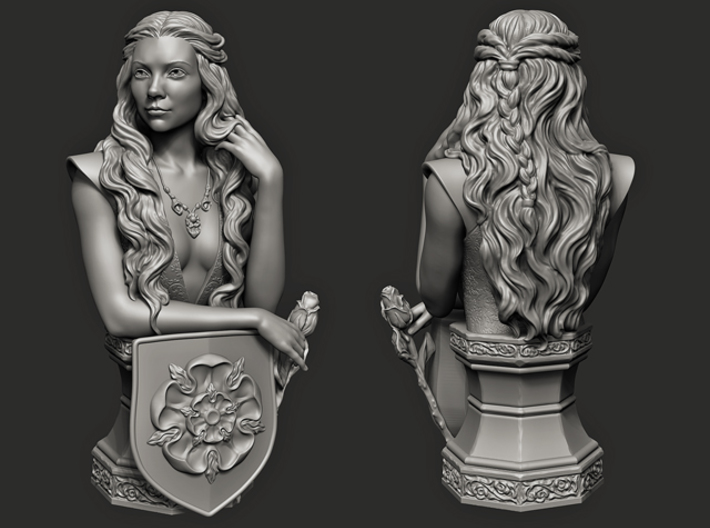 Margaery Tyrell. (14 cm\ 5.51 inches) 3d printed