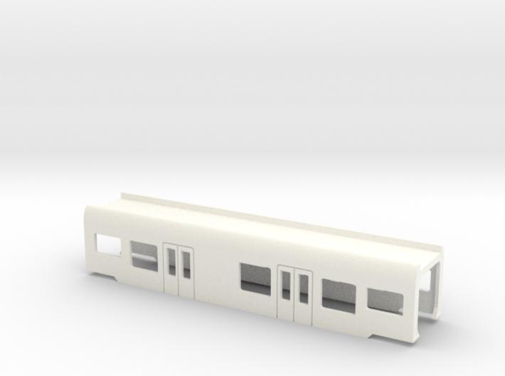 Flirt Mittelwagen mit WC Scale TT 3d printed