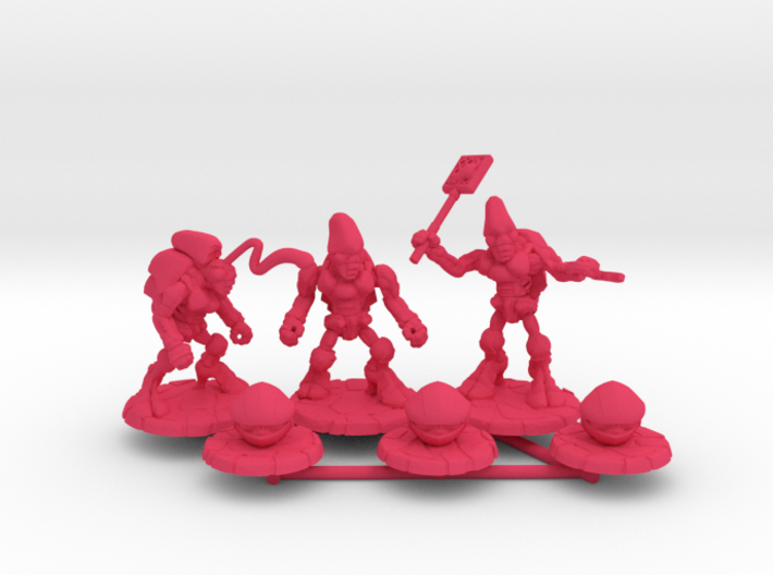 Pillthug Squad 3d printed