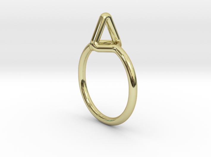 Summit Ring S.02, US size 7.5, d=17,5mm 3d printed