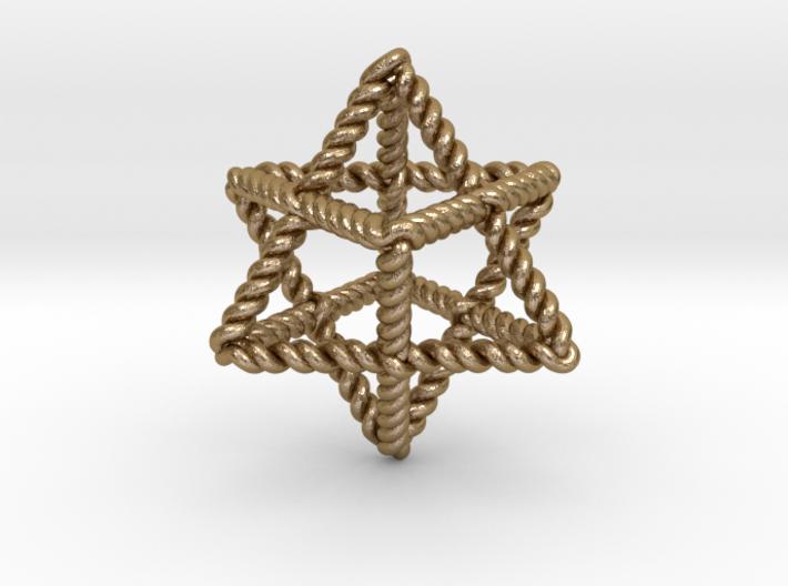 Star Twistahedron 3d printed