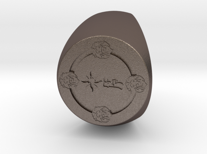 Custom Signet Ring 68 3d printed