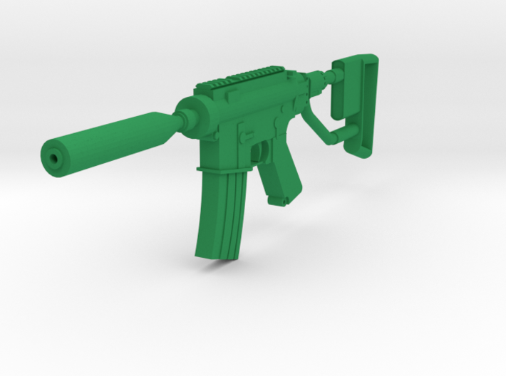Quickshot M4 CQB Rifle 3d printed