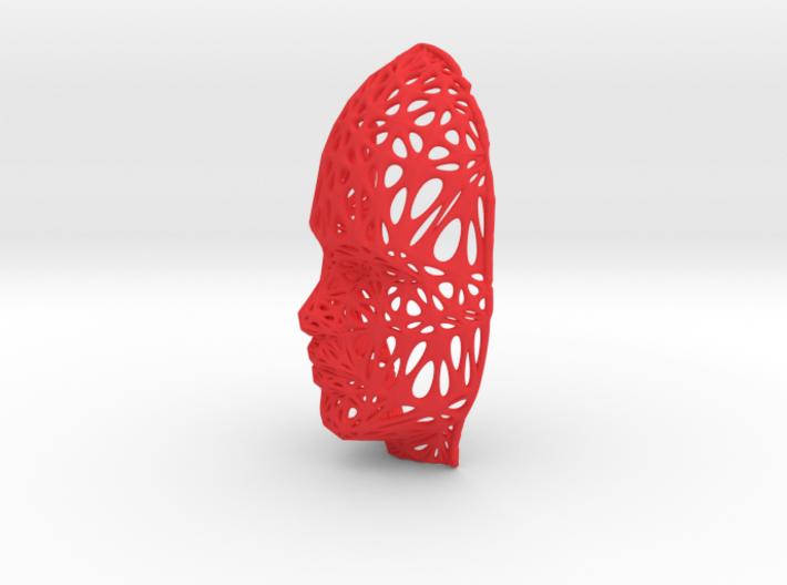 Femail Voronoi Face 3d printed Femail Voronoi Face
