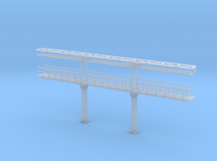 N Scale Tank Car loading Platform 3 center 3d printed