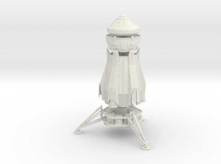 1/200 NASA/JPL ARES MARS ASCENT VEHICLE - COMPLETE 3d printed