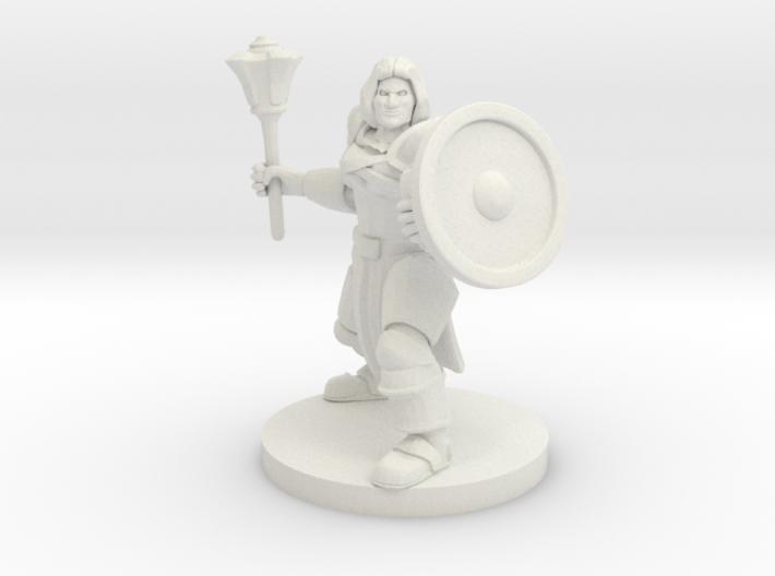 Waterfolk Cleric 3d printed